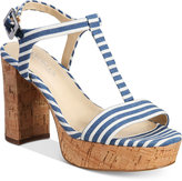 Charles by Charles David Miller T-Strap Platform Sandals
