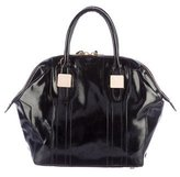 Rachel Zoe Patent Leather Morrison Satchel