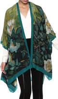 Cocoon House Silk Wild Rose Kimono