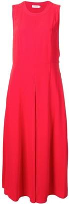 Calvin Klein smooth Twill button dress