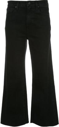 SLVRLAKE Cropped Wide-Leg Jeans
