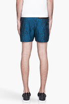 adidas BY O.C. Deep turquoise animal print Running Shorts