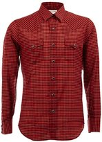 Saint Laurent checked pattern shirt