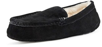 Nest Footwear Toasty Suede Faux Fur Lined Moccasin