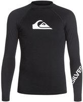 Quiksilver Boy's All Time Long Sleeve Rash Guard 8136742
