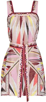 Emilio Pucci Bes-print beach dress