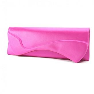 Christian Louboutin Pink Cloth Clutch bags