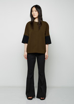 Marni Double Crepe Bell Trouser