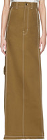 Vetements Beige Carhartt Edition Push-up Workwear Skirt