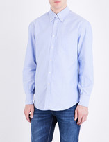 Brunello Cucinelli Oxford regular-fit cotton shirt