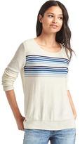 Gap Chest-stripe pullover sweater