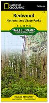 Redwood National & State Parks Map