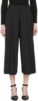 Alexander Wang Black Cropped Tailored Trousers