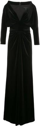 Tadashi Shoji Malee v-neck gown
