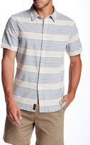 Jachs Short Sleeve Classic Fit Stripe Shirt