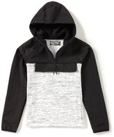 First Wave Big Boys 8-20 Colorblock Hooded Shirt