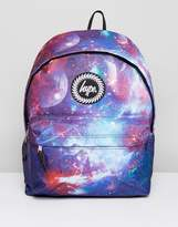 Hype Backpack In Navy Space Print