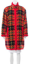 Carolina Herrera Wool Knit Jacket