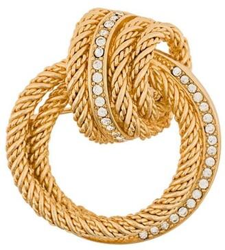 Christian Dior Knot Brooch
