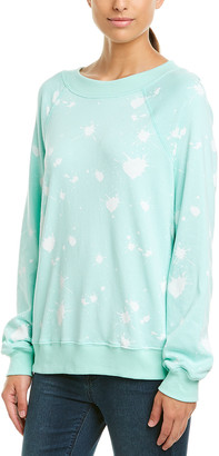 Wildfox Couture Paint Splatter Sweatshirt