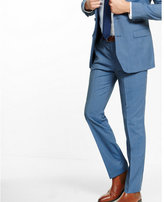 Express slim photographer micro stripe wool suit pant