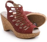 Jambu JBU by Lillian Wedge Sandals - Vegan Leather (For Women)