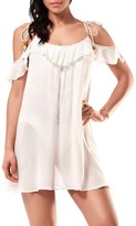 Robin Piccone Women's Cold Shoulder Cover-Up Dress