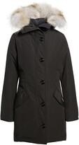 Thumbnail for your product : Canada Goose Rossclair Genuine Coyote Fur Trim Down Parka