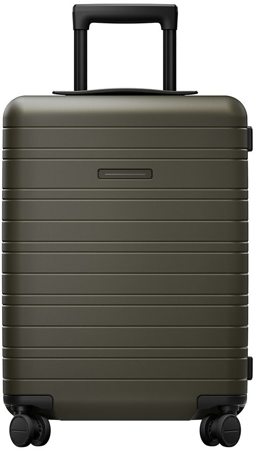 Horizn Studios Smart Hard Shell Suitcase - Dark Olive - Cabin