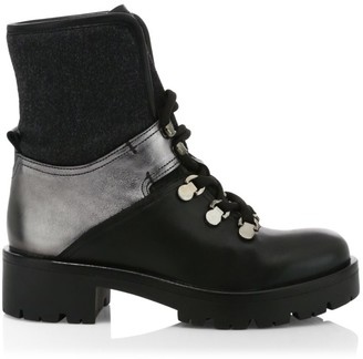 Aquatalia Jamie Leather Hiking Boots