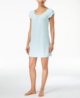 Alfani Flutter-Sleeve Printed Chemise, Only at Macy's