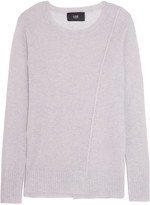 Line Ingrid open knit-paneled cashmere sweater