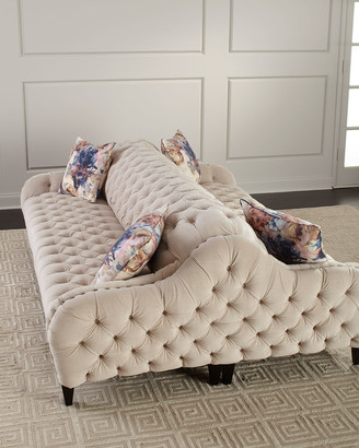 Old Hickory Tannery Paloma Double Sofa, 93""