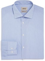 Armani Collezioni Stripe Classic Fit Dress Shirt
