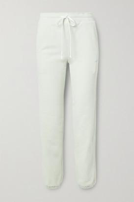 Twenty Montreal Sunnyside Cotton-blend Jersey Track Pants - Mint