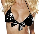 Shirley of Hollywood Women's Sequin Bra Top