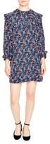 Sandro Women's Paisley Silk Shift Dress