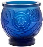 Daum Da Empreinte Blue Med Vase