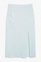 Thumbnail for your product : Monki Side slit midi skirt