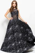 Jovani 50341 Beaded Sleeveless Jewel Evening Gown