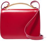 Marni Sculpture Leather Shoulder Bag - Red