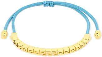 Versace Adjustable Greek Motif Bracelet
