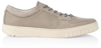 Salvatore Ferragamo Scuby Leather Sneakers