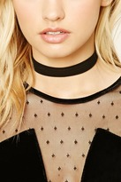 Forever 21 FOREVER 21+ Strappy Faux Suede Choker