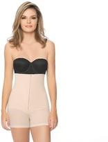 Annette Women's Faja Extra Firm Control High Waist Boy Short With Front Zipper