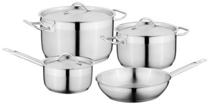 Berghoff Hotel 7pc Stainless Steel Cookware Set