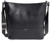 Shinola Small Relaxed Leather Hobo Bag - Black