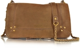 Jerome Dreyfuss Bobi Khaki Leather Shoulder Bag