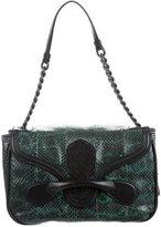 Bottega Veneta Snakeskin & Leather Shoulder Bag