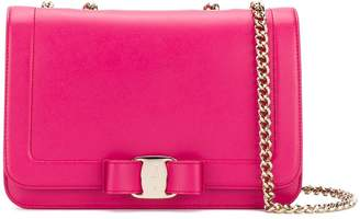 Salvatore Ferragamo Vara flap shoulder bag
